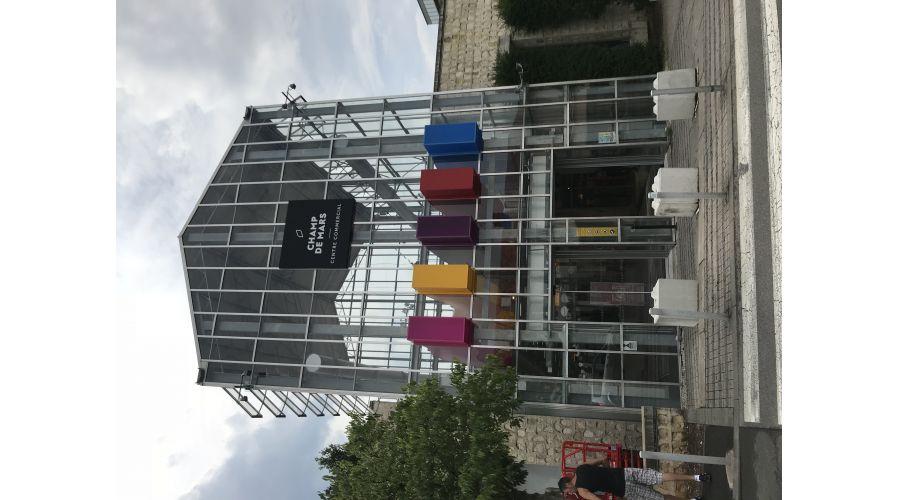 Modernisation du Centre Commercial Champs de Mars - Angoulême