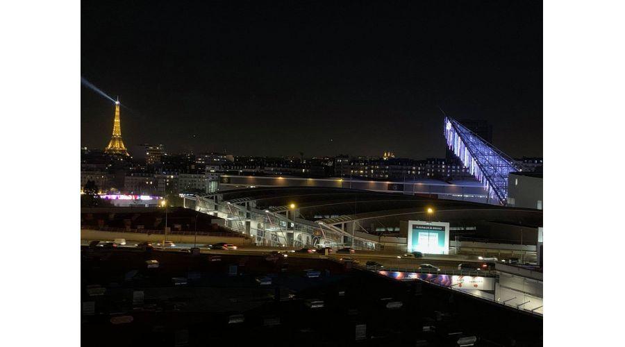 Pendrillons LED du Parc des expositions Paris Porte de Versailles