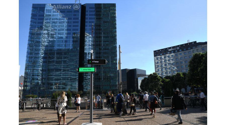 Quartier d'affaires Paris La Défense