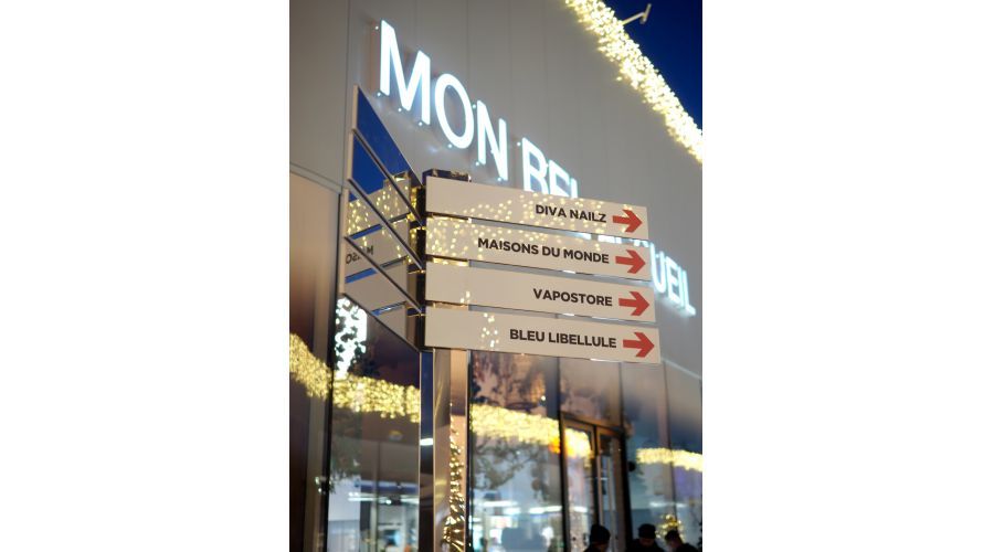 Nouveau centre commercial MON BEAU BUCHELAY