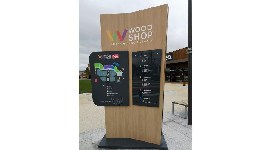 Centre commercial WOODSHOP