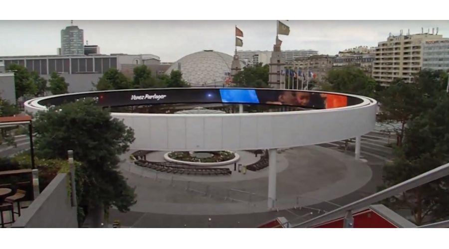 Anneau LED Parcexpo Porte de Versailles